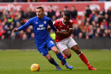 Michael Mancienne Nottingham Forest v Cardiff City - Sky Bet Championship