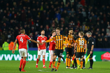Michael Mancienne Hull City v Nottingham Forest - The Emirates FA Cup Fourth Round