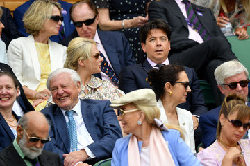 Michael McIntyre Day Eleven: The Championships - Wimbledon 2019