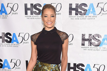 Michael Michele Harlem School of the Arts Hosts 50th Anniversary Kickoff at the Plaza