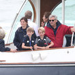 Michael Middleton The Duke And Duchess Of Cambridge Take Part In The King's Cup Regatta