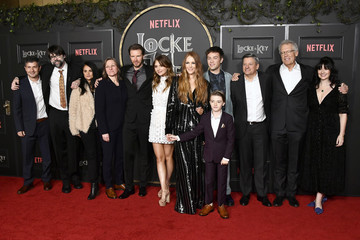 "Michael Morris Emilia Jones Netflix's ""Locke & Key"" Series Premiere Photo Call"