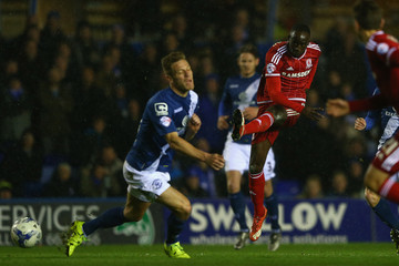 Michael Morrison Birmingham City v Middlesbrough - Sky Bet Championship