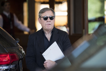 Michael Ovitz Annual Allen And Co. Meeting In Sun Valley Draws CEO's And Business Leaders To The Mountain Resort Town