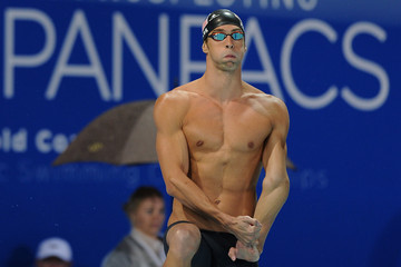 Michael Phelps 2014 Pan Pacific Championships: Day 2