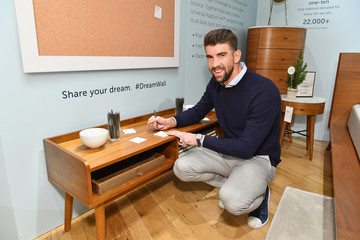 Michael Phelps Leesa's Night of Dreams Party With Michael Phelps at West Elm