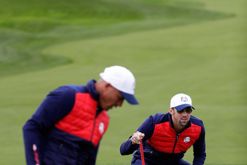 Michael Phelps 2016 Ryder Cup - Celebrity Matches