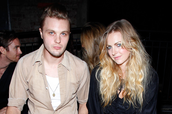 Photo of Michael Pitt & his  Sister  Stacy Pitt