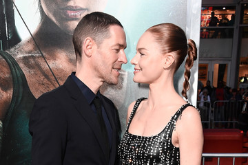 Michael Polish Premiere Of Warner Bros. Pictures' 'Tomb Raider' - Arrivals