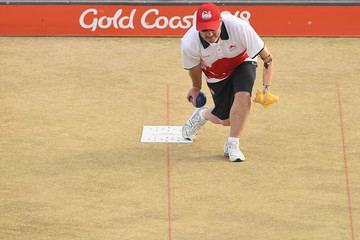 Michael Robertson Lawn Bowls - Commonwealth Games Day 7