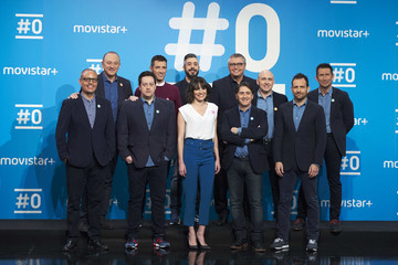 Michael Robinson Movistar+ Celebrates '#0' Channel 1st Anniversary