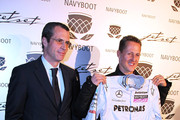 Michael Schumacher and Philippe Gaydoul Photos Photo