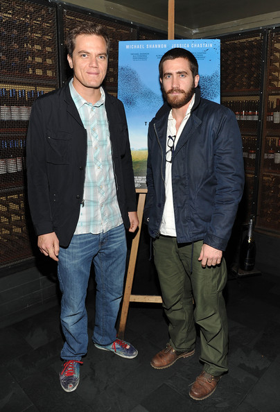 """Take Shelter"" New York Premiere [take shelter,event,outerwear,suit,blazer,jacket,white-collar worker,premiere,jeans,denim,michael shannon,jake gyllenhaal,new york,57th street screening room,l,premiere,premiere]"