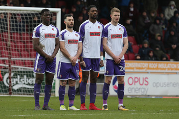 Michael Smith Northampton Town vs. Rotherham United - Sky Bet League One