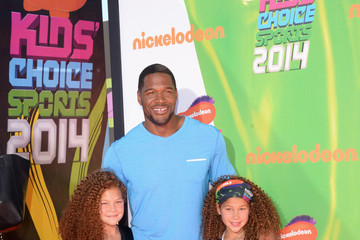 Michael Strahan Arrivals at the Nickelodeon Kids' Choice Sports Awards