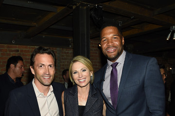 Michael Strahan Amy Robach JCPenney and Michael Strahan Launch Collection By Michael Strahan