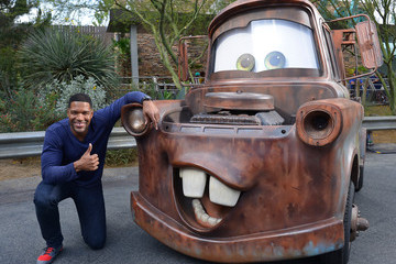 Michael Strahan Michael Strahan Gears Up For 'LIVE's' Week at the Disneyland Resort