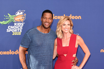 Michael Strahan Nickelodeon Kids' Choice Sports Awards 2015 - Arrivals