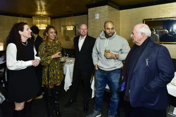 Michael Strahan Haute Living Celebrates Michael Strahan With Zenith Watches At Philippe Downtown