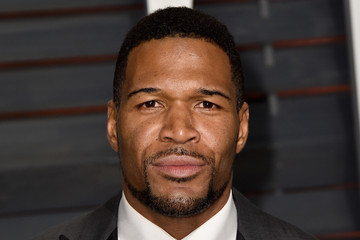 Michael Strahan Arrivals at the Elton John AIDS Foundation Oscars Viewing Party — Part 5