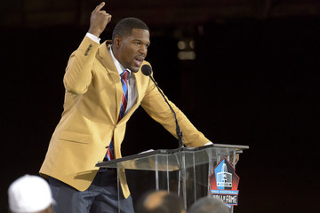 Michael Strahan NFL Class of 2014 Enshrinement Ceremony