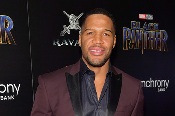 Michael Strahan The Cinema Society Hosts a Screening of Marvel Studios' 'Black Panther'