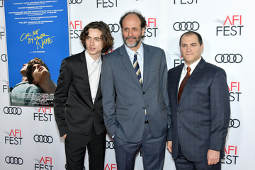 Michael Stuhlbarg Luca Guadagnino AFI FEST 2017 Presented By Audi - Screening Of 'Call Me By Your Name' - Arrivals