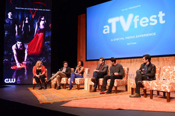 Michael Trevino SCAD Presents aTVfest - Prime-time Series Screening: The CW Presents 'The Vampire Diaries'