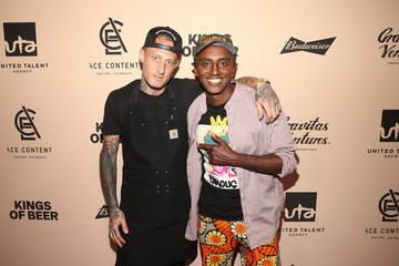 Michael Voltaggio World Premiere Of 'KINGS OF BEER' In Beverly Hills