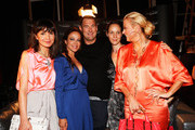Nadine Warmuth, Sonja Kirchberger, Michael Michalsky, Jeanette Hain and Jenny Elvers-Elbertzhagen attend the Michalsky Style Nite 2012 party during the Mercedes-Benz Fashion Week Spring/Summer 2013 on July 6, 2012 in Berlin, Germany.