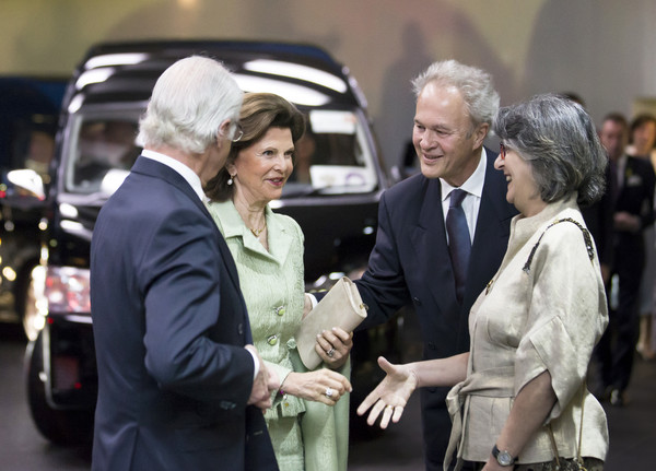 King Carl Gustav And Queen Silvia of Sweden Visit Japan - Day 3