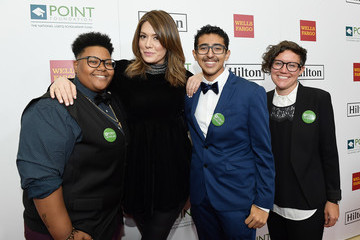 Michelle Collins Point Honors Los Angeles 2017, Benefiting Point Foundation - Red Carpet