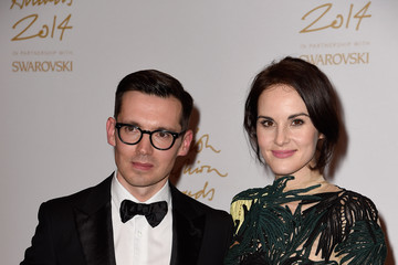 Michelle Dockery British Fashion Awards Winners Room