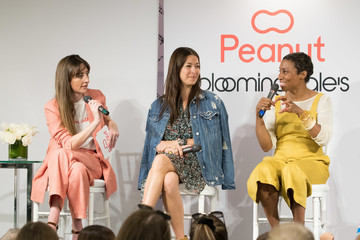 Michelle Kennedy Bloomingdale's Celebrates Mother's Day With Peanut