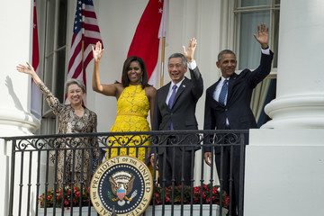 Michelle Obama President Obama Welcomes Singapore's Prime Minister Lee Hsien Loong to the White House