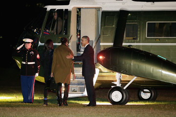 Michelle Obama The First Family Departs the White House