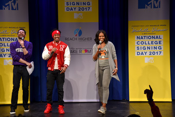Michelle Obama MTV's 2017 College Signing Day with Michelle Obama - Inside