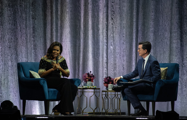 Michelle Obama In Conversation At The O2 Arena