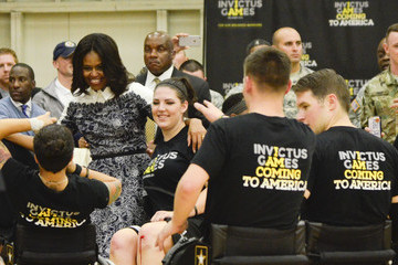 Michelle Obama Joining Forces Invictus Games 2016 Launch Event