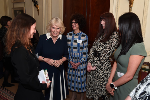 The Duchess Of Cornwall Hosts A Reception To Acknowledge The 15th Anniversary Of Domestic Abuse Charity SafeLives