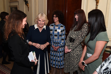 Michelle Phillips The Duchess Of Cornwall Hosts A Reception To Acknowledge The 15th Anniversary Of Domestic Abuse Charity SafeLives