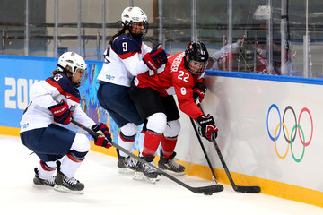 Michelle Picard Ice Hockey - Winter Olympics Day 5