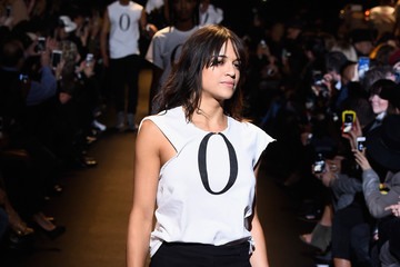 Michelle Rodriguez #TackleEbola At Naomi Campbell's Fashion For Relief - Mercedes-Benz Fashion Week Fall 2015