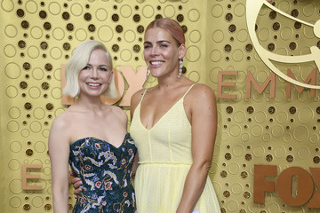 Michelle Williams Busy Philipps 71st Emmy Awards - Arrivals
