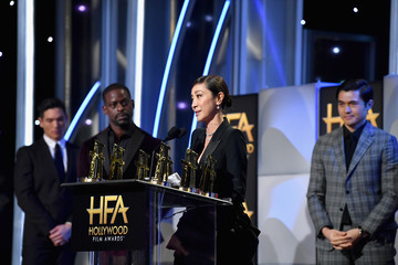 Michelle Yeoh Henry Golding 22nd Annual Hollywood Film Awards - Inside
