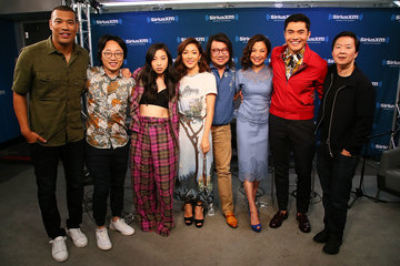 Michelle Yeoh SiriusXM's Entertainment Weekly Radio Spotlight With The Cast Of 'Crazy Rich Asians'