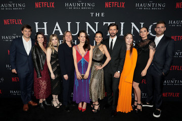 Michiel Huisman Victoria Pedretti Netflix's 'The Haunting of Hill House' Premiere And After Party