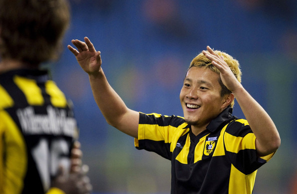 Michihiro Yasuda Michihiro Yasuda during the Eredivisie match between Vitesse and Roda JC at the Gelredome on January 29, 2011 in Arnhem, Netherlands.