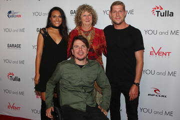 Mick Fanning Barney Miller and Mick Fanning Attend 'YOU and ME' Gold Coast Premiere