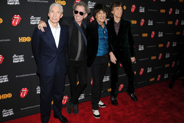 "Mick Jagger Charlie Watts ""The Rolling Stones Crossfire Hurricane"" Premiere"